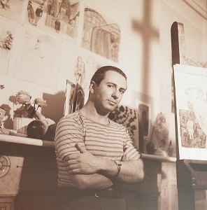 Koerner in his New York studio